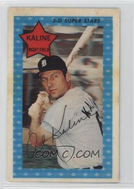 1971 Kellogg's 3-D Super Stars - [Base] #44 - Al Kaline [GoodtoVG‑EX]