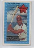 Tony Taylor (XOGRAPH -- No Date) [Good to VG‑EX]