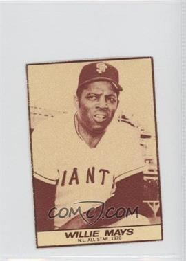 1971 Milk Duds - [Base] #WIMA - Willie Mays