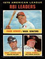 Frank Howard, Tony Conigliaro, Boog Powell [EXMT]