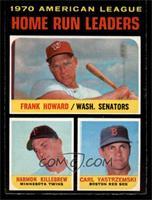 Frank Howard, Harmon Killebrew, Carl Yastrzemski [NM]
