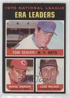 Tom Seaver, Wayne Simpson, Luke Walker