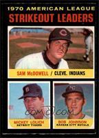 Sam McDowell, Mickey Lolich, Bob Johnson [EXMT]