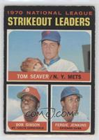 Tom Seaver, Bob Gibson, Fergie Jenkins [Poor to Fair]