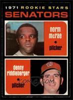 Norm McRae, Denny Riddleberger [NM]