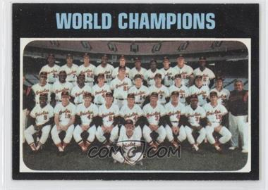 1971 Topps - [Base] #1 - Baltimore Orioles Team (World Champions)