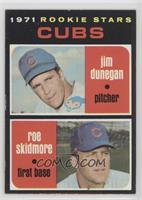 Cubs Rookie Stars (Jim Dunegan, Roe Skidmore) [Good to VG‑EX]