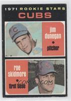 Cubs Rookie Stars (Jim Dunegan, Roe Skidmore) [GoodtoVG‑EX]