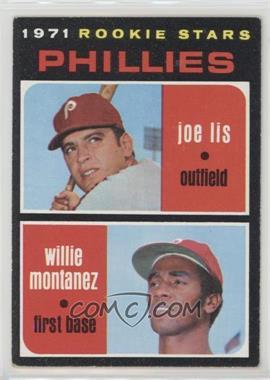 1971 Topps - [Base] #138 - 1971 Rookie Stars - Joe Lis, Willie Montanez
