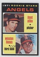 Angels Rookie Stars (Lloyd Allen, Winston Llenas)