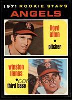 Angels Rookie Stars (Lloyd Allen, Winston Llenas) [NM]