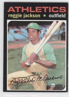 1971 Topps - [Base] #20 - Reggie Jackson
