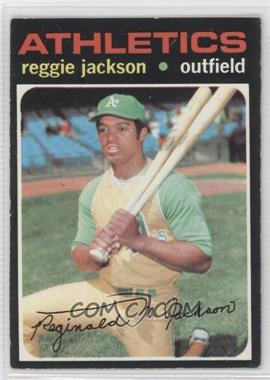 1971 Topps - [Base] #20 - Reggie Jackson [Good to VG‑EX]