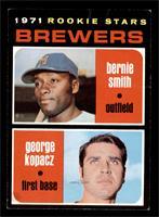1971 Rookie Stars - ernie Smith, George Kopacz [VG]