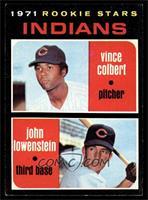 Rookie Stars (Vince Colbert, John Lowenstein) [NM]