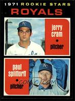 Rookie Stars (Jerry Cram, Paul Splittorff) [NM]