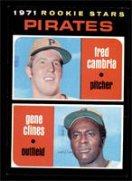 1971 Rookie Stars - Fred Cambria, Gene Clines [NM+]