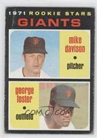 Rookie Stars Giants (Mike Davison, George Foster) [Poor to Fair]