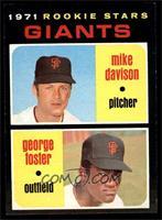 Rookie Stars Giants (Mike Davison, George Foster) [NM]