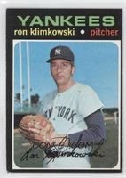 Ron Klimkowski [Good to VG‑EX]