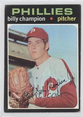 1971 Topps - [Base] #323 - Bill Champion [Good to VG‑EX]