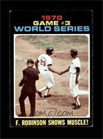 World Series Game #3: F. Robinson Shows Muscle! [VGEX]