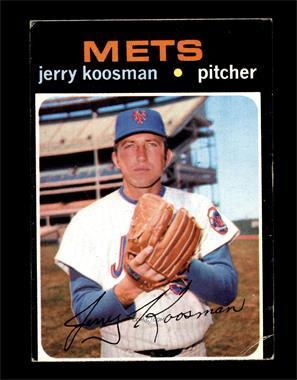 1971 Topps - [Base] #335 - Jerry Koosman [VG]