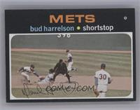 Bud Harrelson (Nolan Ryan watching the play) [Near Mint‑Mint]