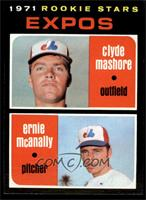 Clyde Mashore, Ernie McAnally [NM]