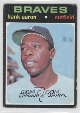 1971 Topps - [Base] #400 - Hank Aaron [GoodtoVG‑EX]
