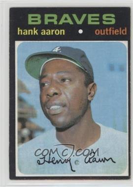 1971 Topps - [Base] #400 - Hank Aaron