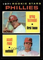 Phillies Rookie Stars (Greg Luzinski, Scott Reid) [NMMT]
