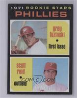Phillies Rookie Stars (Greg Luzinski, Scott Reid) [NearMint]