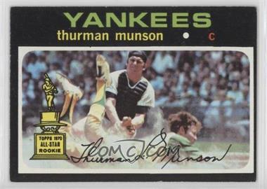1971 Topps - [Base] #5 - Thurman Munson