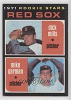 1971 Rookie Stars - Dick Mills, Mike Garman [NoneGoodtoVGR…