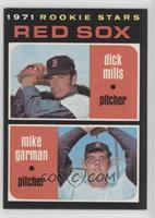 1971 Rookie Stars - Dick Mills, Mike Garman