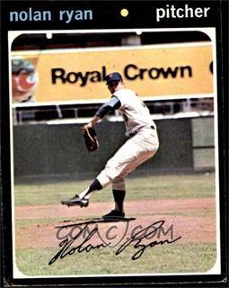 1971 Topps - [Base] #513 - Nolan Ryan [VGEX]