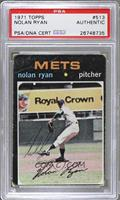 Nolan Ryan [PSA AUTHENTIC]