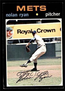 1971 Topps - [Base] #513 - Nolan Ryan [EX]
