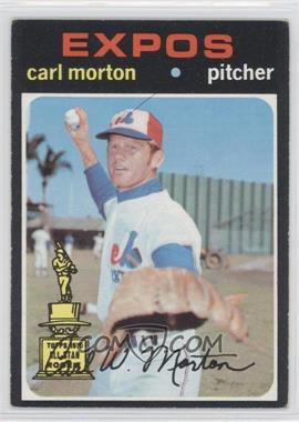 1971 Topps - [Base] #515 - Carl Morton