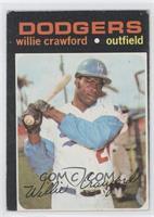 Willie Crawford [GoodtoVG‑EX]