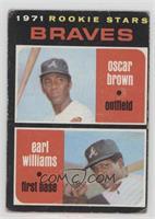 Braves Rookie Stars (Oscar Brown, Earl Williams) [PoortoFair]