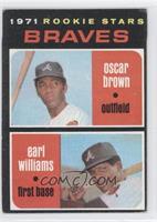 Braves Rookie Stars (Oscar Brown, Earl Williams)