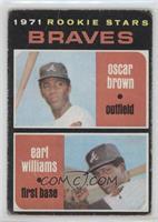 Braves Rookie Stars (Oscar Brown, Earl Williams) [Poor]