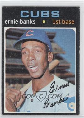 1971 Topps - [Base] #525 - Ernie Banks