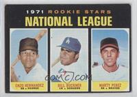 1971 Rookie Stars - Enzo Hernandez, Marty Perez, Bill Buckner [Goodto&nbs…