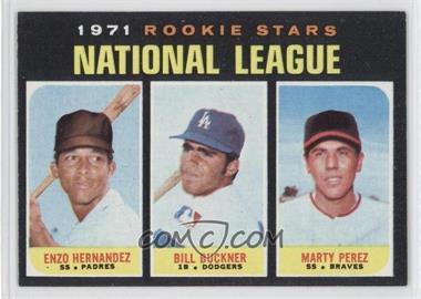 1971 Topps - [Base] #529 - 1971 Rookie Stars - Enzo Hernandez, Marty Perez, Bill Buckner