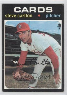 1971 Topps - [Base] #55 - Steve Carlton