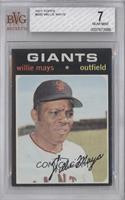Willie Mays [BVG 7 NEAR MINT]