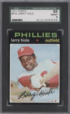 1971 Topps - [Base] #616 - Larry Hisle [SGC 88]